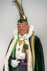 Prins Henny I is prins carnaval in Brandevoort!