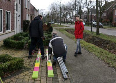 2018 1 28 Brandeliers Versieren Van De Residenties Van De Hoogheden Prins Alex I & Adjudant Charles Theunis (