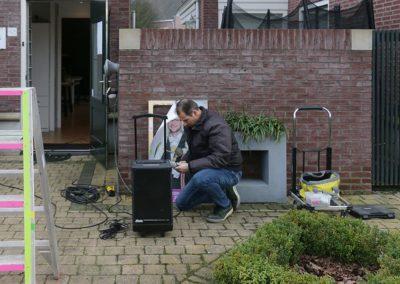 2018 1 28 Brandeliers Versieren Van De Residenties Van De Hoogheden Prins Alex I & Adjudant Charles Theunis (1)