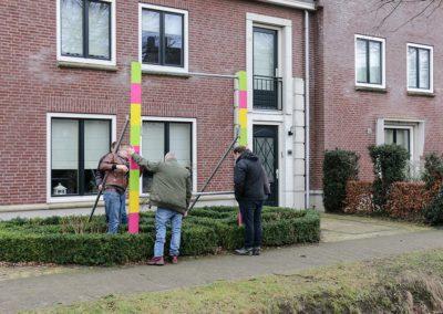 2018 1 28 Brandeliers Versieren Van De Residenties Van De Hoogheden Prins Alex I & Adjudant Charles Theunis ( (10)