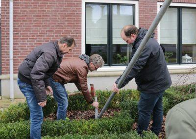 2018 1 28 Brandeliers Versieren Van De Residenties Van De Hoogheden Prins Alex I & Adjudant Charles Theunis ( (11)