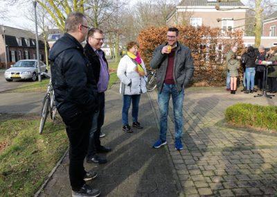 2018 1 28 Brandeliers Versieren Van De Residenties Van De Hoogheden Prins Alex I & Adjudant Charles Theunis ( (14)