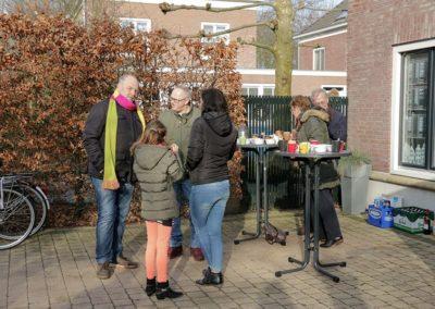 2018 1 28 Brandeliers Versieren Van De Residenties Van De Hoogheden Prins Alex I & Adjudant Charles Theunis ( (15)