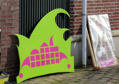 2018 1 28 Brandeliers Versieren Van De Residenties Van De Hoogheden Prins Alex I & Adjudant Charles Theunis ( (16)