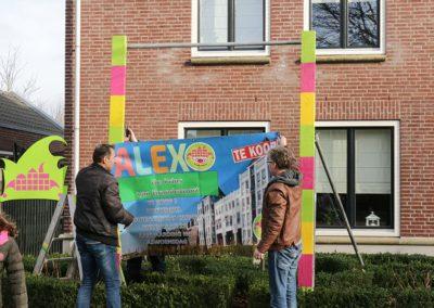 2018 1 28 Brandeliers Versieren Van De Residenties Van De Hoogheden Prins Alex I & Adjudant Charles Theunis ( (17)