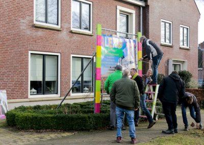 2018 1 28 Brandeliers Versieren Van De Residenties Van De Hoogheden Prins Alex I & Adjudant Charles Theunis ( (20)