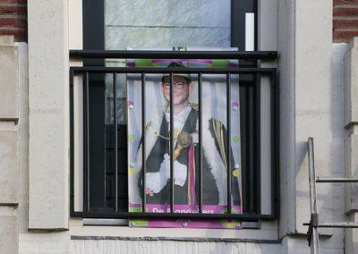 2018 1 28 Brandeliers Versieren Van De Residenties Van De Hoogheden Prins Alex I & Adjudant Charles Theunis ( (24)
