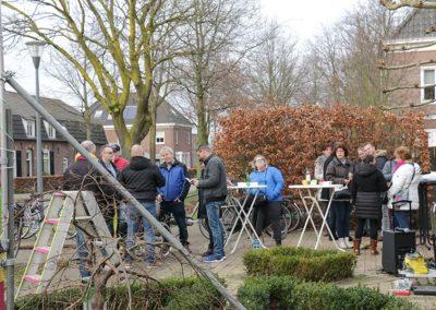 2018 1 28 Brandeliers Versieren Van De Residenties Van De Hoogheden Prins Alex I & Adjudant Charles Theunis ( (26)