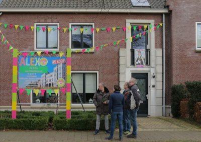 2018 1 28 Brandeliers Versieren Van De Residenties Van De Hoogheden Prins Alex I & Adjudant Charles Theunis ( (27)