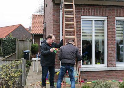 2018 1 28 Brandeliers Versieren Van De Residenties Van De Hoogheden Prins Alex I & Adjudant Charles Theunis ( (29)