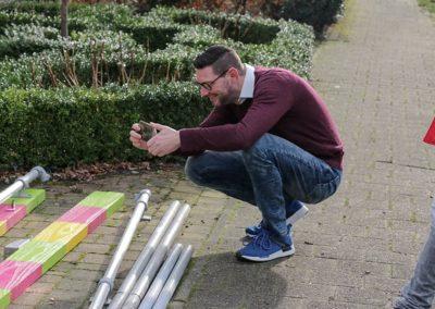 2018 1 28 Brandeliers Versieren Van De Residenties Van De Hoogheden Prins Alex I & Adjudant Charles Theunis ( (3)