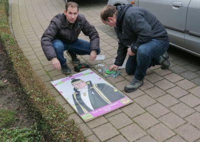 2018 1 28 Brandeliers Versieren Van De Residenties Van De Hoogheden Prins Alex I & Adjudant Charles Theunis ( (36)