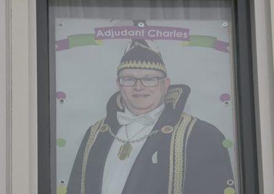 2018 1 28 Brandeliers Versieren Van De Residenties Van De Hoogheden Prins Alex I & Adjudant Charles Theunis ( (37)