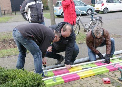2018 1 28 Brandeliers Versieren Van De Residenties Van De Hoogheden Prins Alex I & Adjudant Charles Theunis ( (4)