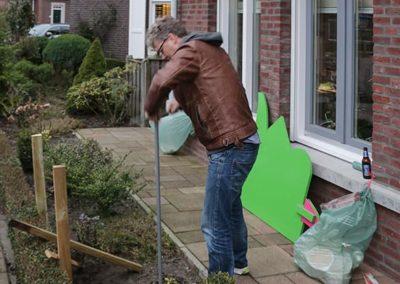2018 1 28 Brandeliers Versieren Van De Residenties Van De Hoogheden Prins Alex I & Adjudant Charles Theunis ( (40)