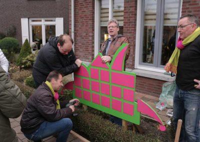 2018 1 28 Brandeliers Versieren Van De Residenties Van De Hoogheden Prins Alex I & Adjudant Charles Theunis ( (41)