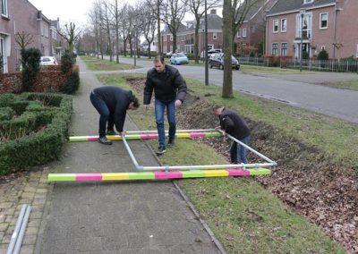 2018 1 28 Brandeliers Versieren Van De Residenties Van De Hoogheden Prins Alex I & Adjudant Charles Theunis ( (7)