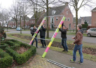 2018 1 28 Brandeliers Versieren Van De Residenties Van De Hoogheden Prins Alex I & Adjudant Charles Theunis ( (9)