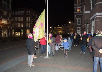 2018-2-14 Brandeliers Vlagstrijken Theunis van der Meulen