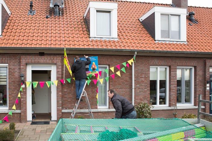 2018-2-17 Brandeliers Ontmantelen residentie Theunis van der Meulen