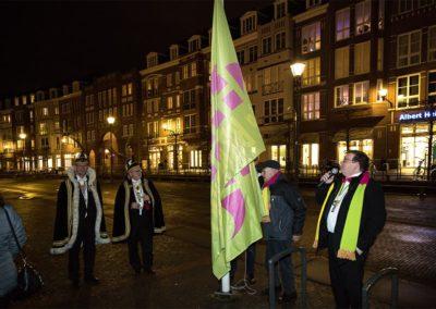 2018-2-2 Brandeliers Vlag hijsen Theunis van der Meulen