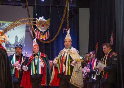 2019-02-03 Brandeliers 55 jarig jubileum Rampetampers Theunis van der Meulen