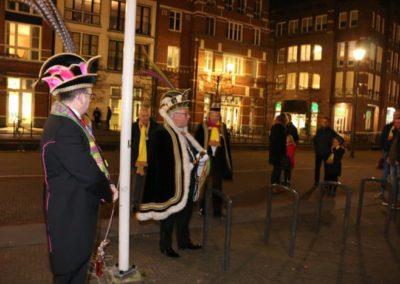 2019-02-22 Brandeliers Vlag hijsen Inge van der Meulen