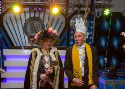 2019-11-22 Brandeliers Kattendonders prinsbekendmaking Theunis en Inge van der Meulen
