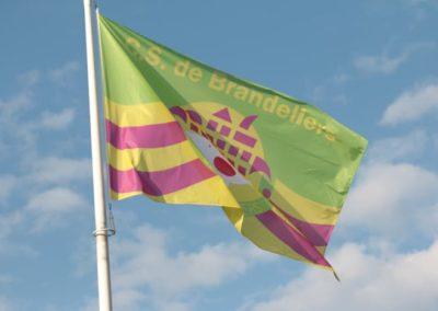 2020-26-1 Brandeliers vlaghijsen rotonde barrierke Inge van der Meulen