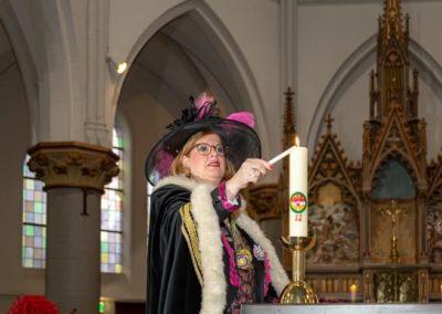2020-2-23 Brandeliers Carnavaleske Kerkdienst Theunis en Inge van der Meulen